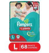 Pampers Pant Large Diaper 68 Pcs