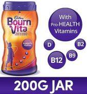 Bournvita Pro Health Chocolate Drink 200 Gm (Jar)