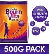 Bournvita Pro Health Chocolate Drink 500 Gm (Pouch)