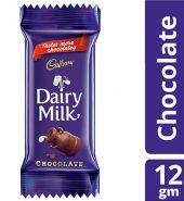 Cadbury  Dairy Milk Chocolate 12G