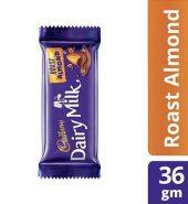 Cadbury  Roast Almond Chocolate Bar 36G