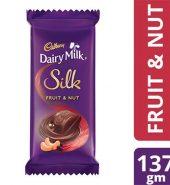 Cadbury Fruit And Nut Chocolate Bar 137G
