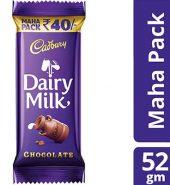 Cadbury Dairy Milk Chocolate 52G Maha Pack