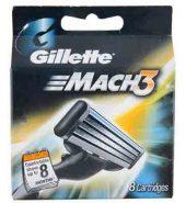 Gillette Mach3 Cartridge 8 Pcs