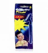 Gillette Presto Disposable Razor 5 Pcs