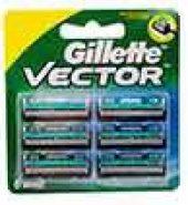 Gillette Vector Plus Cartridge 6 Pcs