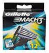 Gillette Mach3 Cartridge 12 Pcs