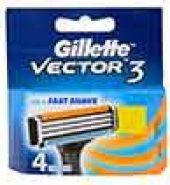 Gillette Vector 3 Cartridges 4 Pcs