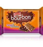Britannia Bourbon Cream Biscuit 60 Gm