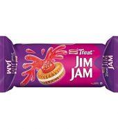 Britannia Jim Jam Cream Biscuit 100 Gm