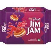 Britannia Jim Jam Cream Biscuit 150G