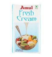 Amul Fresh Cream Tetrapak 1 Ltr