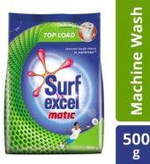Surf Excel Excel Matic Top Load Detergent Powder 500 Gm