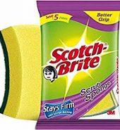 Scotch-Brite Scrub Sponge 2 Pcs