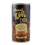 Amul Kool Cafe Flavoured Milk 180 Ml (Can)