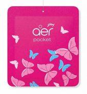 Godrej Aer Pocket Petal Crush Pink 10 Gm