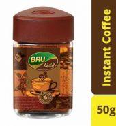 Bru Gold Instant Coffee Jar 50 Gm