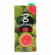 B Natural Pink Guava Juice Tetrapak 1 Ltr