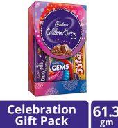 Cadbury  Celebrations Assorted Chocolates Gift Box 61.3G
