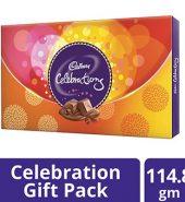 Cadbury  Celebrations Assorted Chocolates Gift Box 114.8G