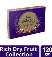 Cadbury  Celebrations Rich Dry Fruit Chocolate Gift Box 120G