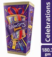 Cadbury  Celebrations Favorites Chocolate Gift Box 180.3G