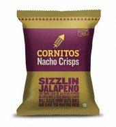 Cornitos Nachos Sizzlin Jalapeno 150 Gm