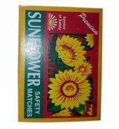 Sunflower Safety Match Box 10 In 1 1 Pc