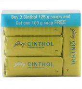 Cinthol Lime Fresh Soap 3X125 Gm