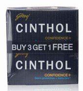 Cinthol Confidence Soap 4X100 Gm