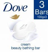 Dove Cream Beauty Bathing Bar 300G