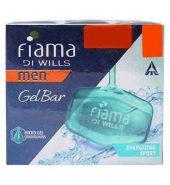 Fiama Di Wills Men Energizing Sport Gel Soap 4X125 Gm