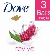 Dove Go Fresh Revive Beauty Bar 3X100 Gm