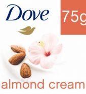 Dove Almond Cream Beauty Bathing Bar 75 Gm
