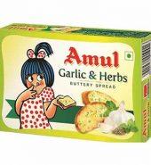 Amul Garlic&Herbs Butteryspread 100 Gm
