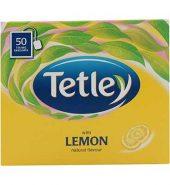 Tetley Lemon Flavored Tea 50 Pcs