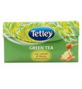 Tetley Green Lemon Honey Tea 30 Pcs