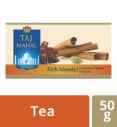 Taj Mahal Rich Masala Tea Bags 25 Pcs