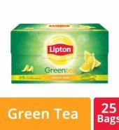Lipton Lemon Zest Green Tea Bags 25 Pcs
