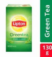 Lipton Clear Green Pure Tea Bag 100 Pcs