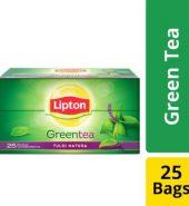 Lipton Tulsi Natura Green Tea Bags 25 Pcs