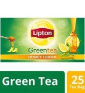 Lipton Honey Lemon Green Tea Bags 25 Pcs