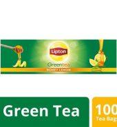 Lipton Green Tea Honey Lemon 100 Pcs