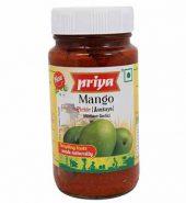 Priya Mango (Avakaya) Pickles Bottle 300 Gm