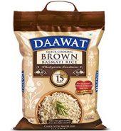 Dawaat Brown Basmati Rice 5Kg
