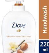 Dove Shea Butter & Warm Vanilla Handwash 220 Ml
