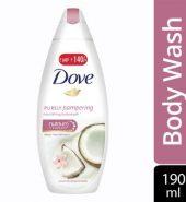 Dove Coconut Milk And Jas Petals Body Wash 190 Ml