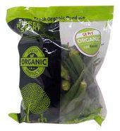 Eat Fresh Organic Bhindi (Lady Finger) 500 Gm