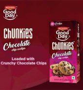 Britannia Good Day Chunkie Triple Choco Biscuits 120 Gm