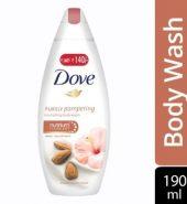 Dove Almond Cream And Hibiscus Body Wash 190 Ml